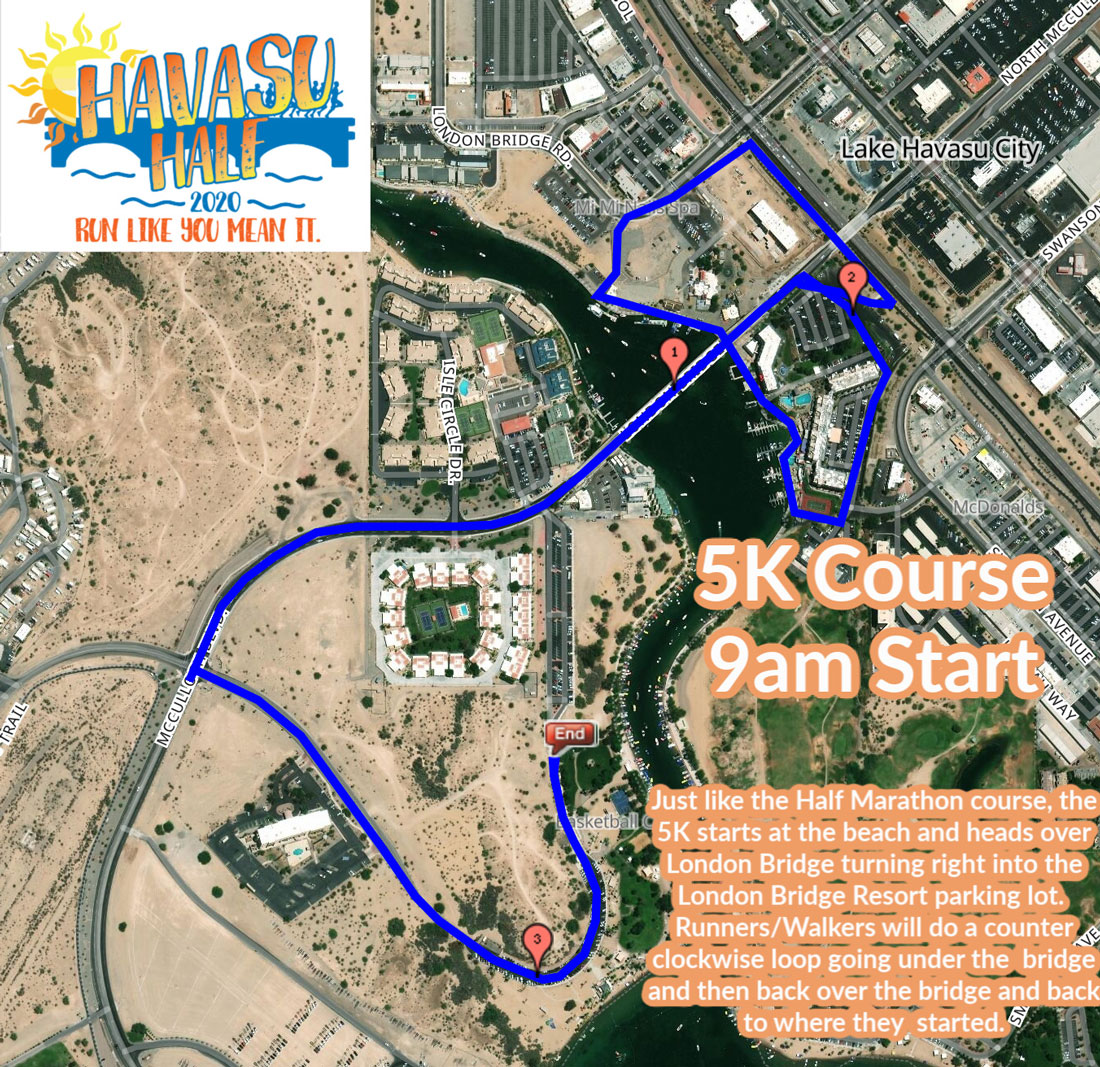 Havasu 5k Race Course