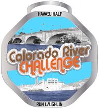 Colorado River Challenge Medal