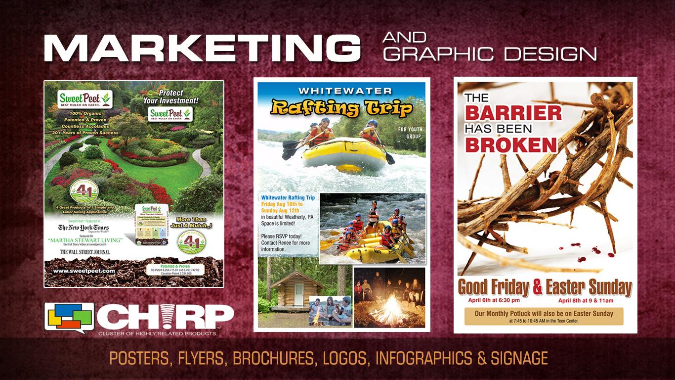 Marketing & Graphic Design