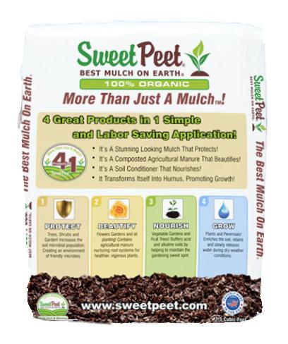 sweet peet mulch