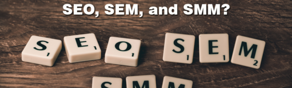 What's the difference between SEO, SEM, and SMM?