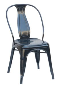 Black Industrial Dining Chair (2400304)