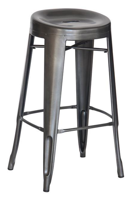 Charcoal Contoured 29″ Bar Stool (2430904)