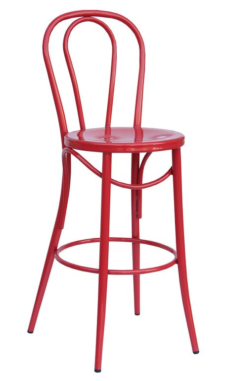 Bistro 29″ Stool: Red (2431602)