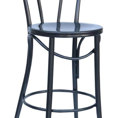 "Bistro 24"" Counter Stool in Charcoal"