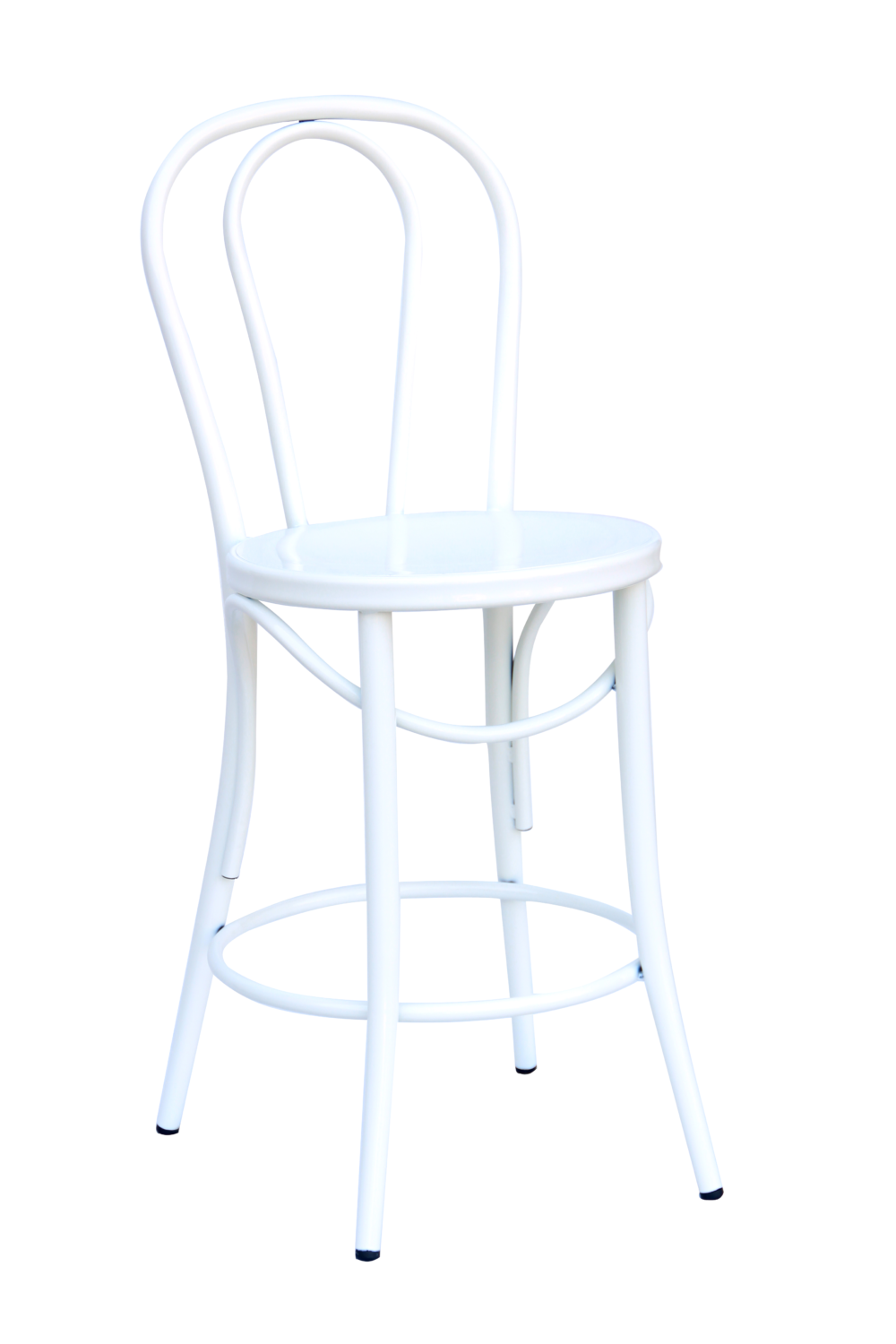 Bistro 24″ Counter Stool: White (2411702)