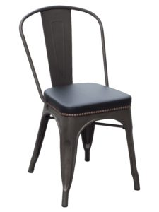 Upholstered Industrial Dining Chair (2400904)