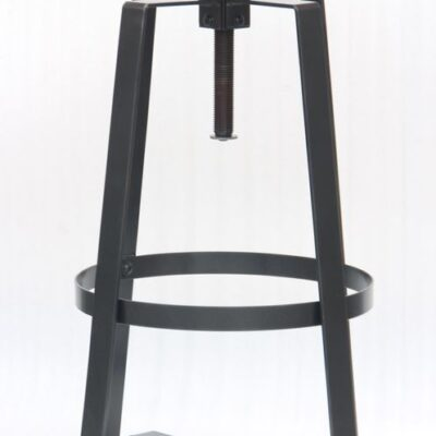 Mixed Material Adjustable Bar Stool