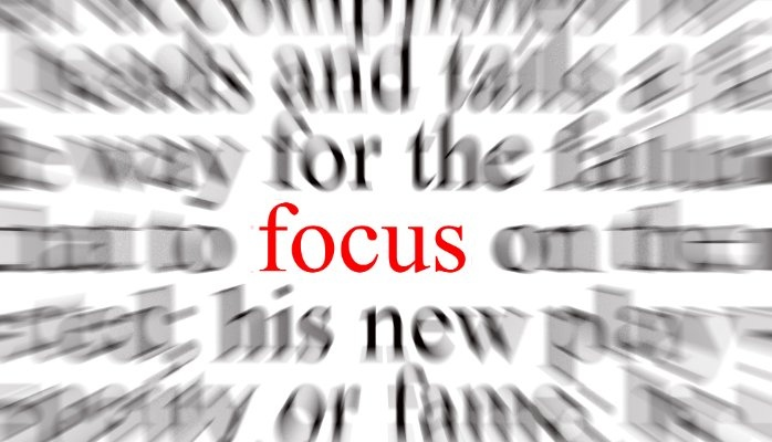Week 6 – The Power of Focus