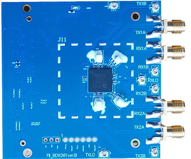 AD-FMCOMMS3-EBZ Board