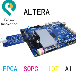 Altera RISC-V SoC AI FPGA Development Board Educational Platform