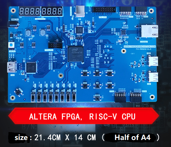 Altera RISC-V SoC AI FII-PRA040 Educational Platform