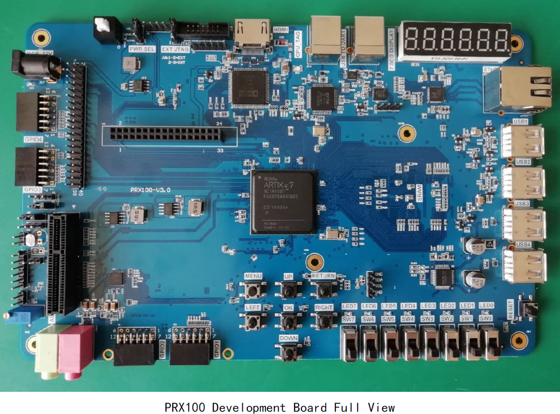 PRX100 Development Board Full View