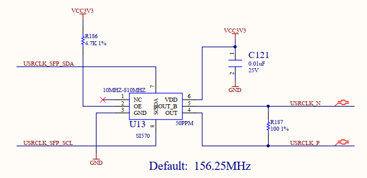 Schematics of Programmable Oscillator