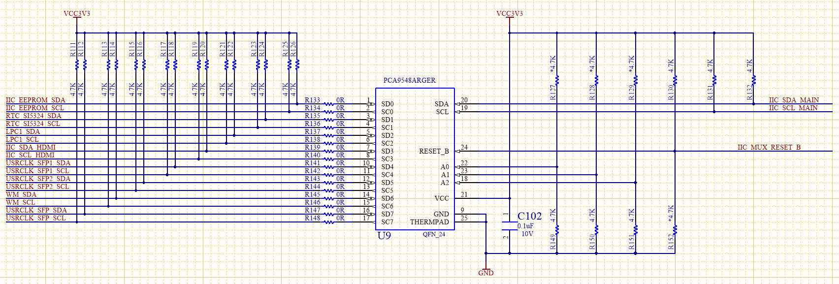 PCA9548 I2C Bus Expansion