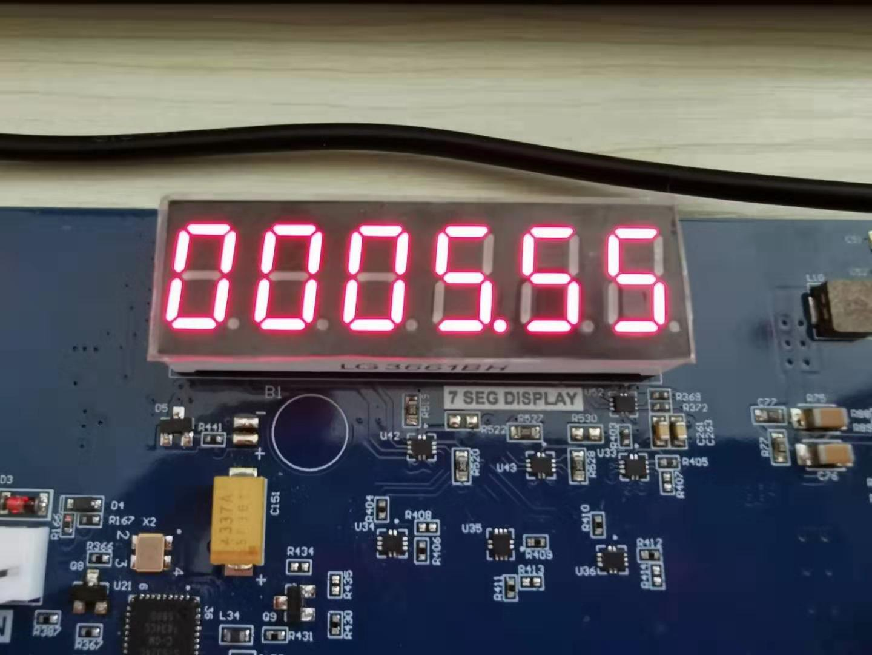 zynq xc7z030 board – FII-PE7030 Experiment 4 -Digital clocl comprehensive design result