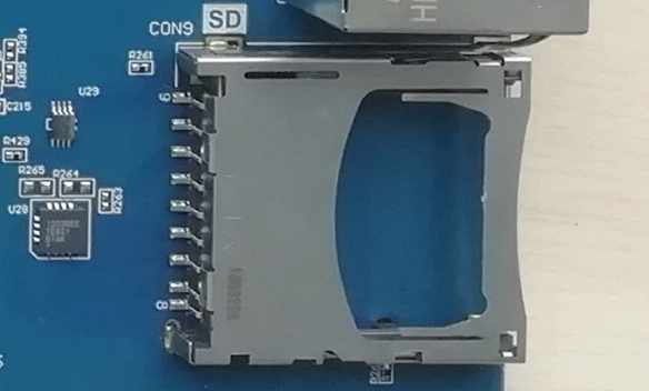 SD Card Physical Picture