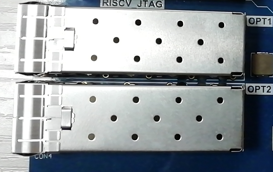 Physical Picture of Fiber Optic Interface