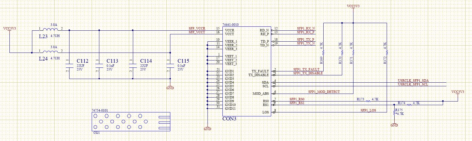 Schematics of Fiber Optic Interface