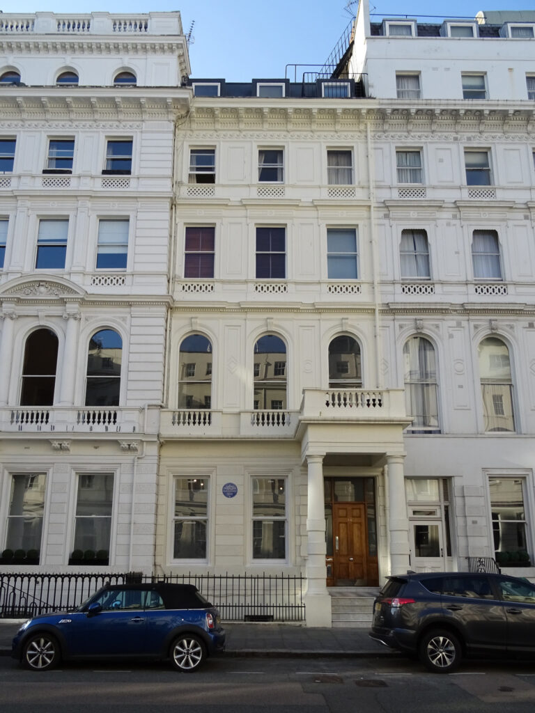 Lancaster Gate houses, Bayswater