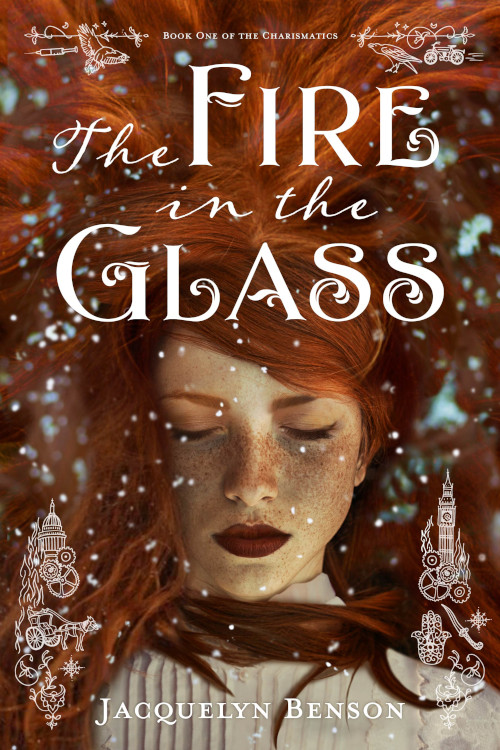 cover of The Fire in the Glass