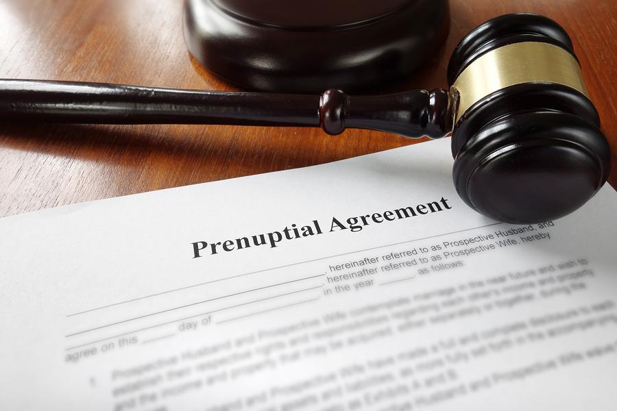 RHF Legal Prenuptial Marriage Agreement