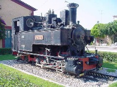 Diakofto Train