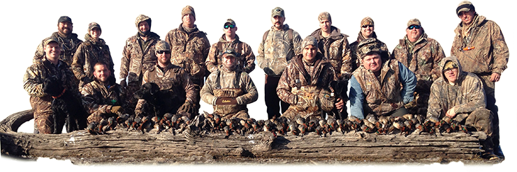 Duck Hunting with a group of guys in North Texas