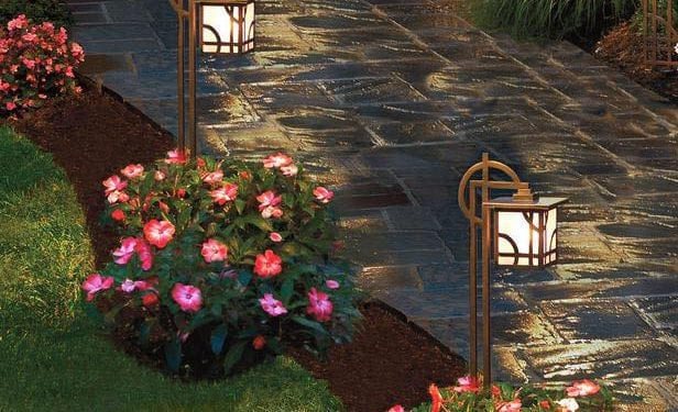 Tender Care Lawn Services | Landscape Pathway Lighting