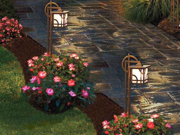 Tender Care Lawn Services   Landscape Pathway Lighting