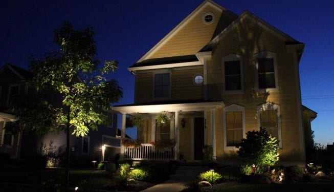 Tender Care Lawn Services | Landscape Lighting 2