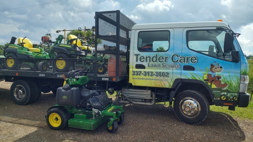 Tender Care Lawn Services   Lawn Care And Maintenance Equipment