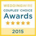 Wedding Wire Couple's Choice Winner 2015