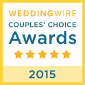 Wedding Wire Couple's Choice Winner 2015