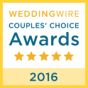 Wedding Wire Couple's Choice Winner 2016