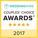 Wedding Wire Couple's Choice Winner 2017