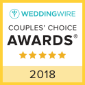 Wedding Wire Couple's Choice Winner 2018
