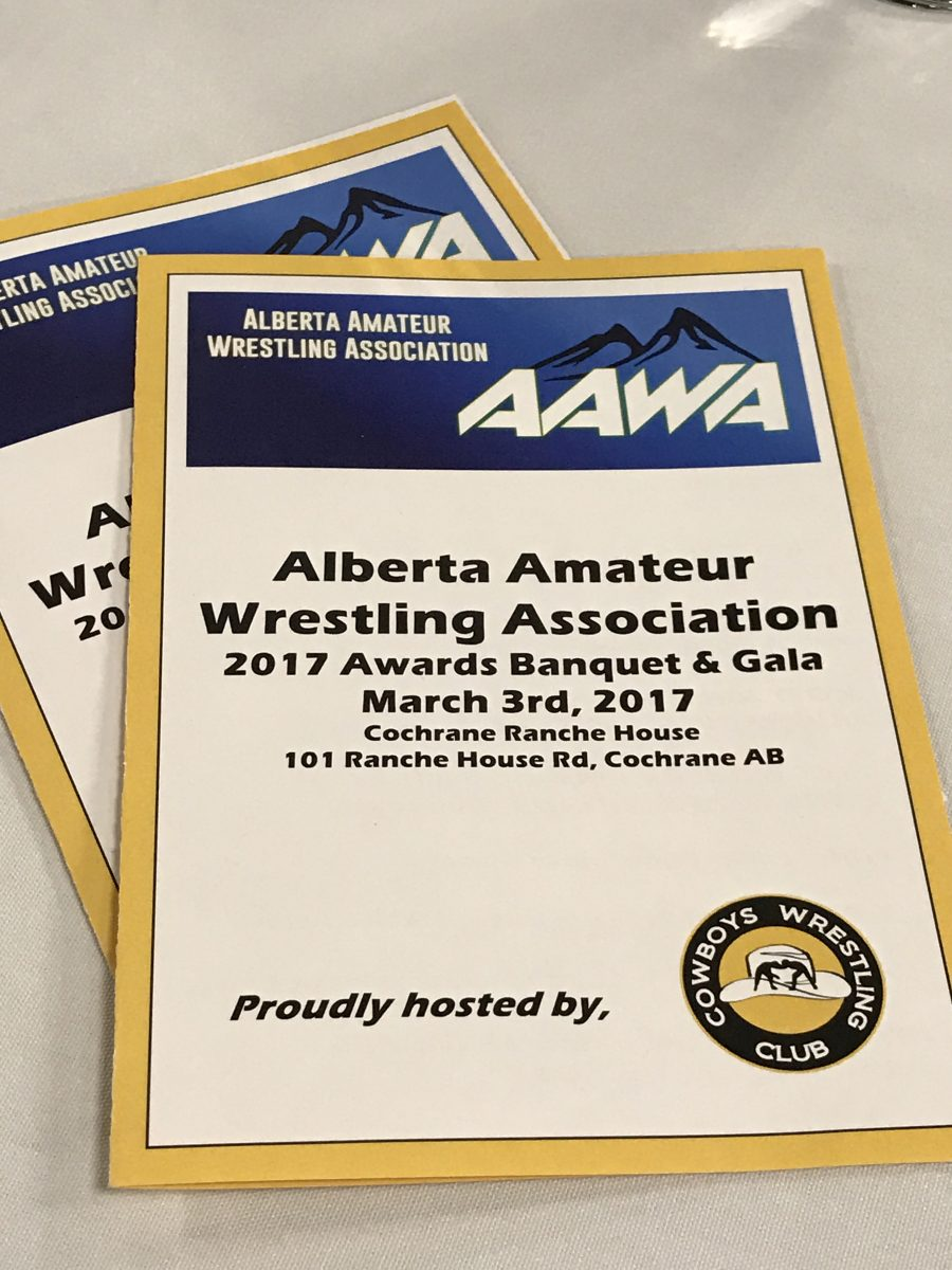 Cochrane-Cowboys-Wrestling-Alberta-Open-Banquet-March 3-2017