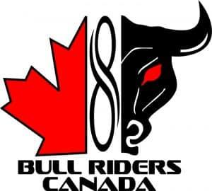 Bull Riders Canada logo