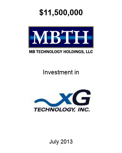 MBTH Invest July 2013
