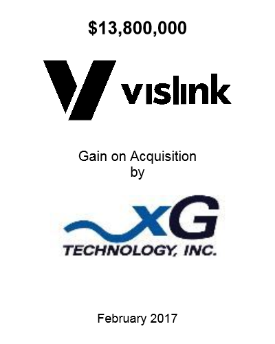 Vislink Gain FEb 2017