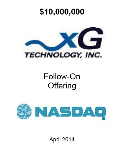 xGTI Follow On April 2014