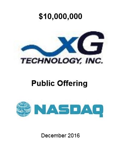 xGTI Offering Dec 2016