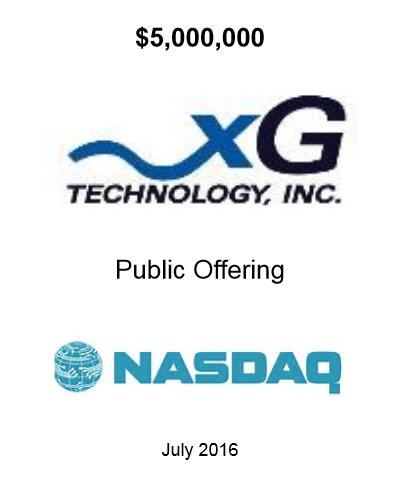 xGTI Offering July 2016