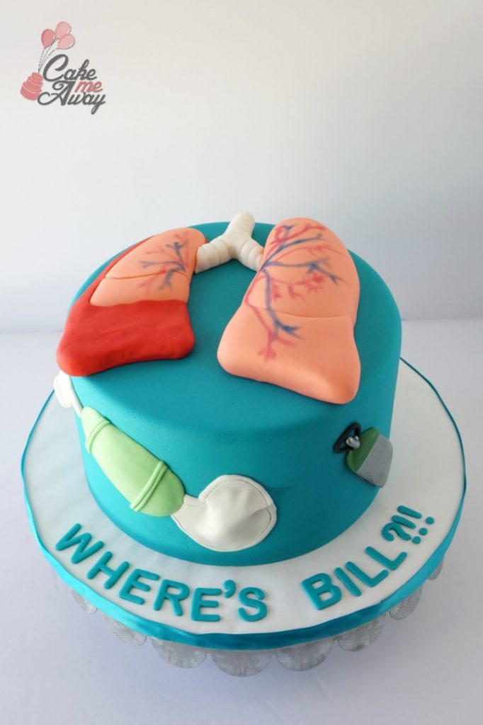 Collapsed Lung Respiratory Tech Cake