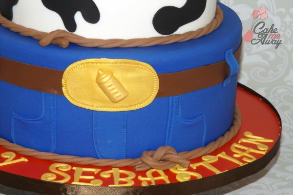 Cowboy Jeans Baby Shower Cake