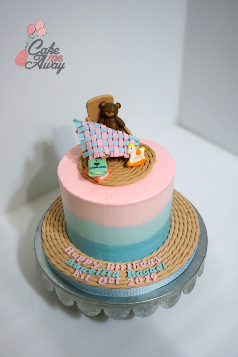 Grandma To Be Birthday Cake