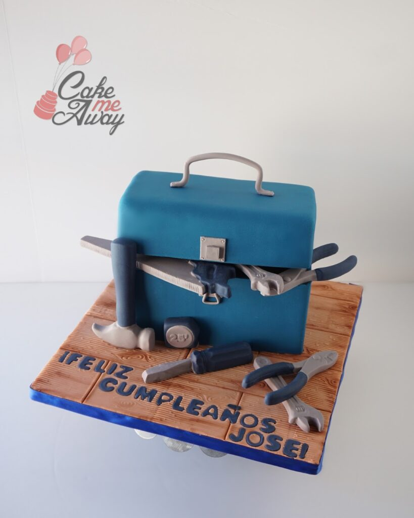 Handyman Toolbox Birthday Cake