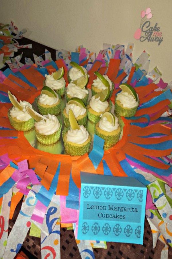 Lemon Margarita Cupcakes