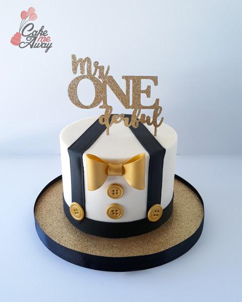 Mr Onederful Smash Cake
